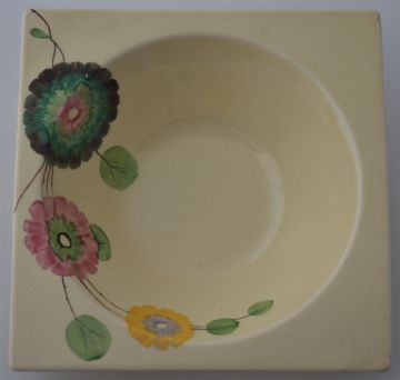 Large Clarice Cliff Pottery Biarritz Dish Bowl